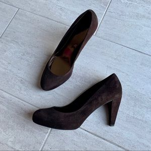 LOFT Suede Pumps